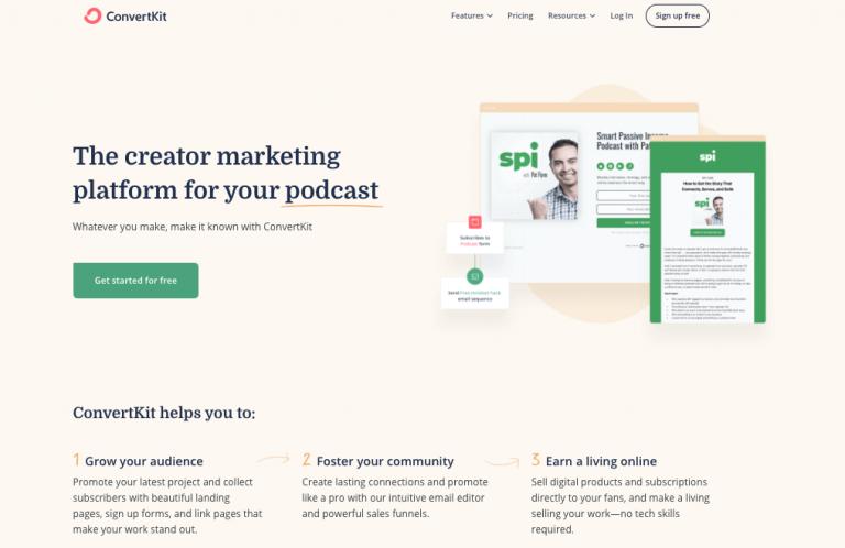 Convertkit_Email Marketing